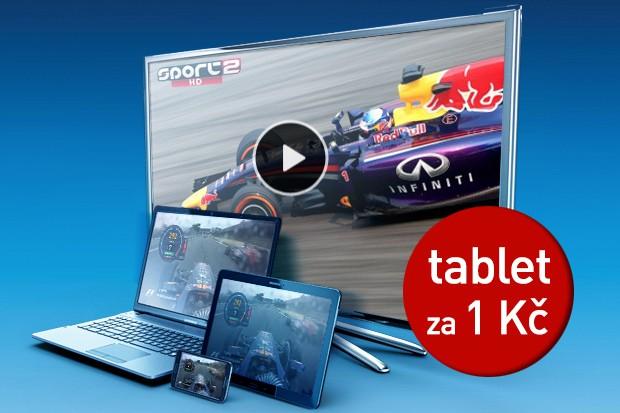 K O2 TV nyní dostanete tablet Samsung za 1 Kč