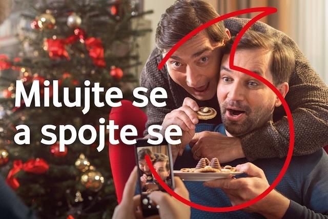 Vodafone k Vánocům naděluje další neomezená data