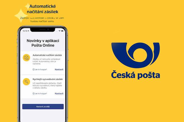 Česká pošta přidala do své aplikace dlouho očekávané funkce