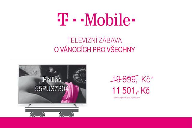 T-Mobile prodloužil vánoční nabídku do konce března
