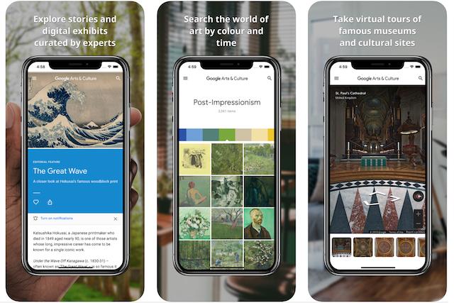 Google nabízí on-line prohlídky stovek muzeí a galerií po celém světě