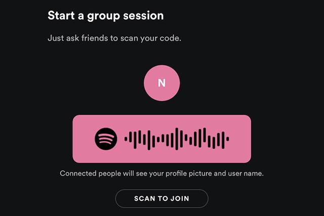 Spotify spustil skupinové relace