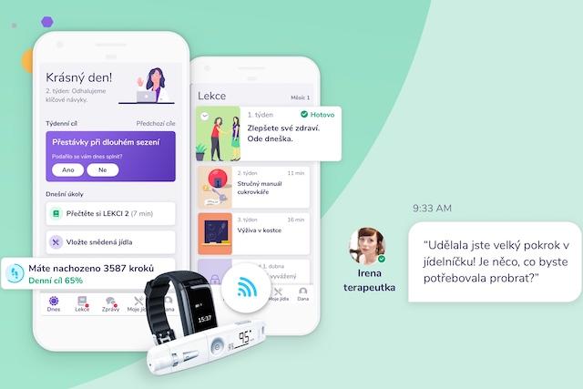 Aplikace pro cukrovkáře Vitadio nabízí sto registrací zdarma