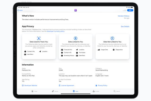 Apple se ještě více zaměří na ochranu soukromí uživatelů