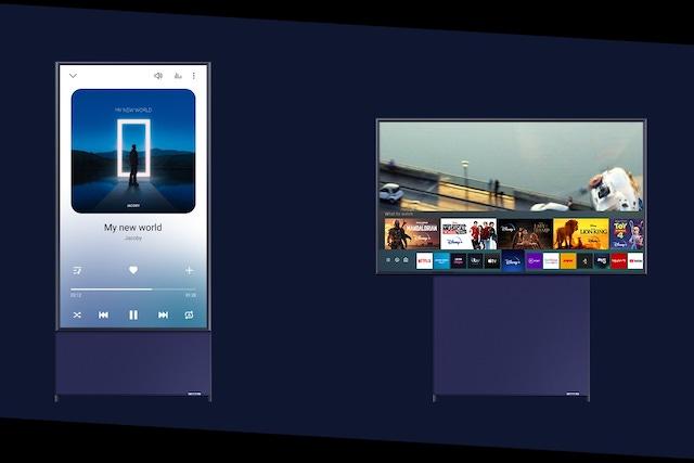 Vertikální televize Samsung už je dostupná i v ČR