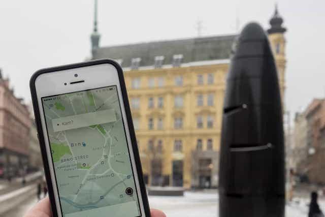 Uber se znovu vrací do Brna