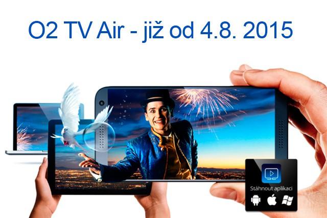Dnes startuje O2 TV Air