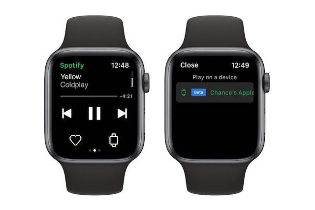 Spotify nabídne poslech na Apple Watch i bez připojení k iPhonu