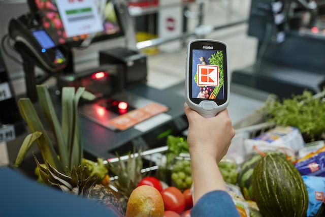 Kaufland začal nabízet nákupy na prodejnách přes aplikaci