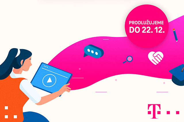 T-Mobile prodlužuje koronavirovou nabídku