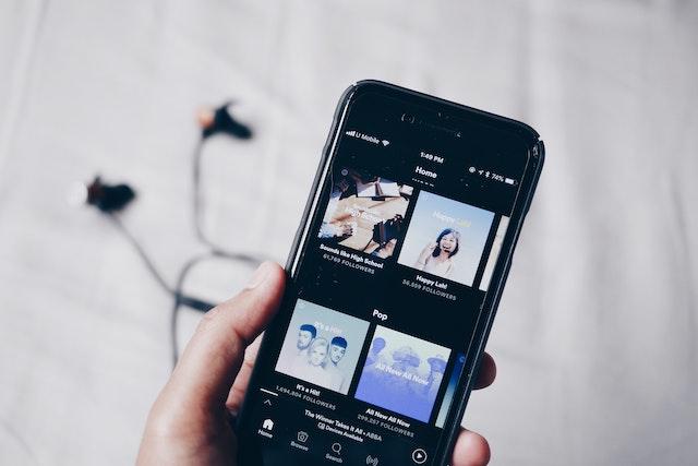 Spotify změnil vzhled domovské obrazovky