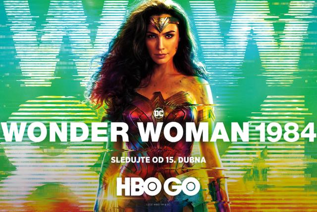 HBO GO uvede film Wonder Woman 1984