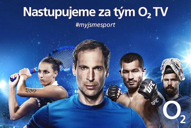 O2 TV představila své nové ambasadory, spojila se s nejznámějšími českými sportovci