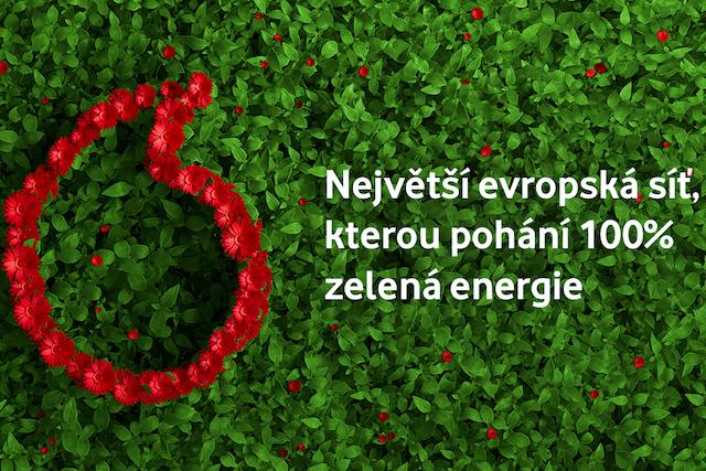 Vodafone myslí na ekologii: Celou jeho evropskou síť bude pohánět zelená energie