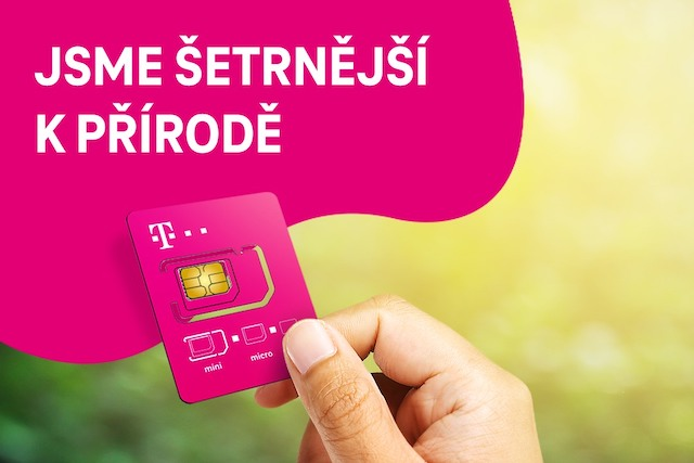 T-Mobile představil menší a ekologičtější SIM karty