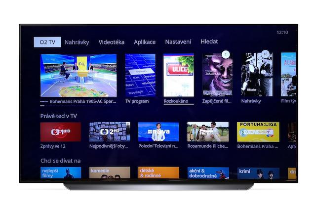 Aplikace O2 TV je nově dostupná i pro televize LG