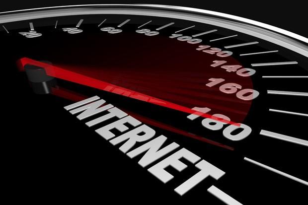 Rychlost internetu v prosinci 2012