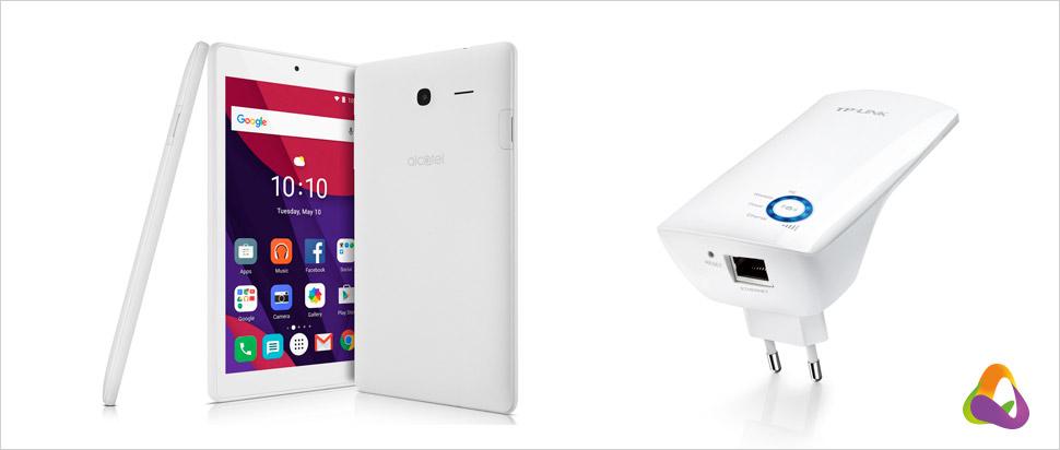 Tablet a Wi-Fi zesilovač zdarma