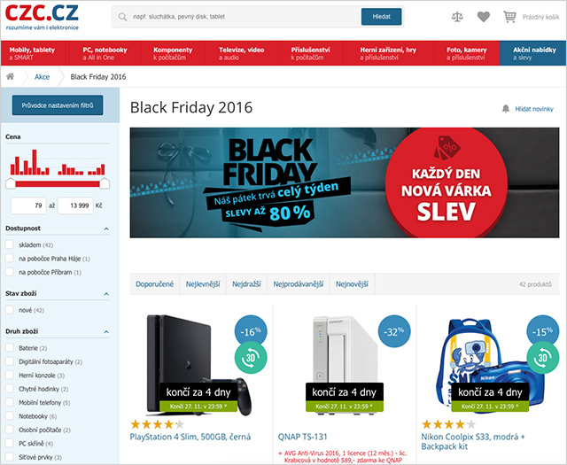 Black Friday czc.cz
