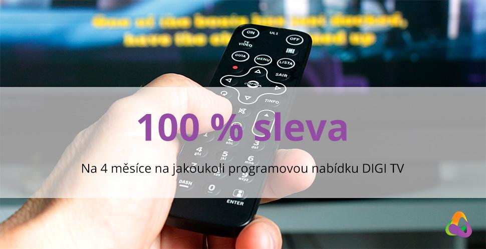 Digi TV na 4. měsíce zdarma