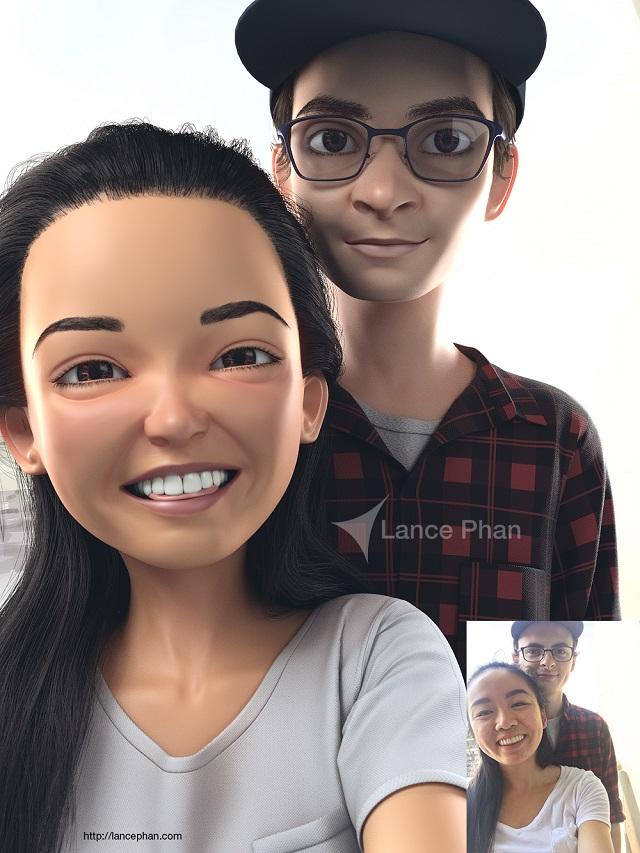 3D Pixar