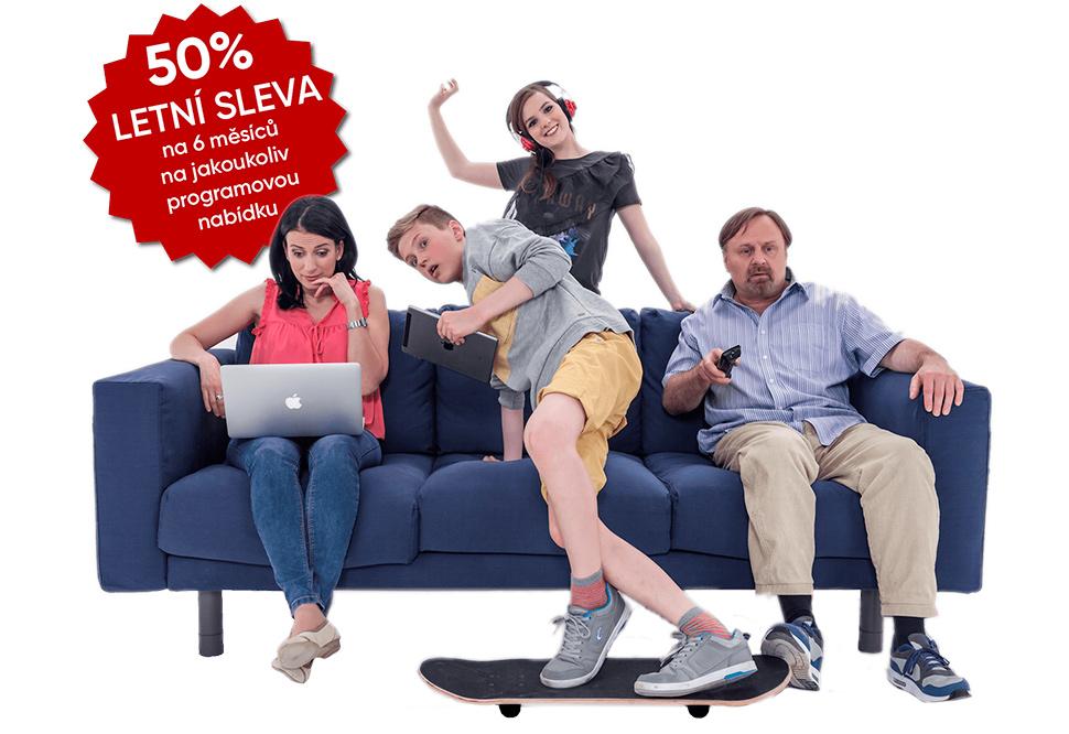 Digi TV sleva 50 procent na celé léto