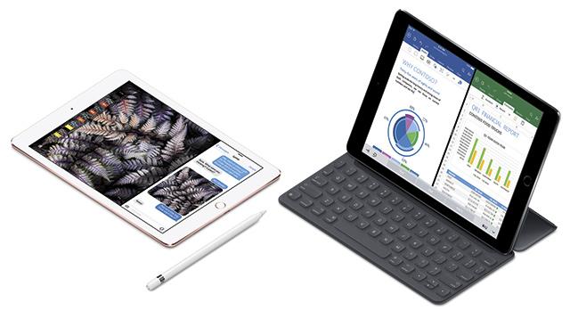 iPad Pro s Apple Pencil a klávesnicí