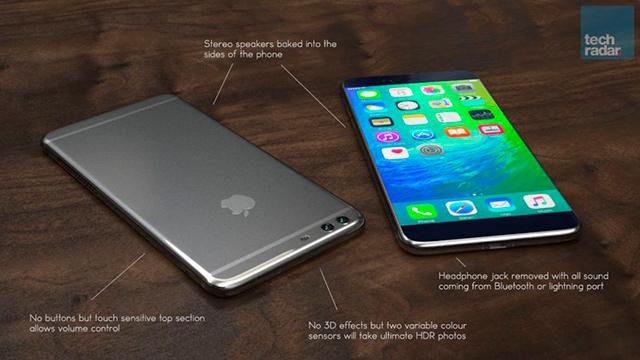 iPhone 7 by mohl mít dva objektivy