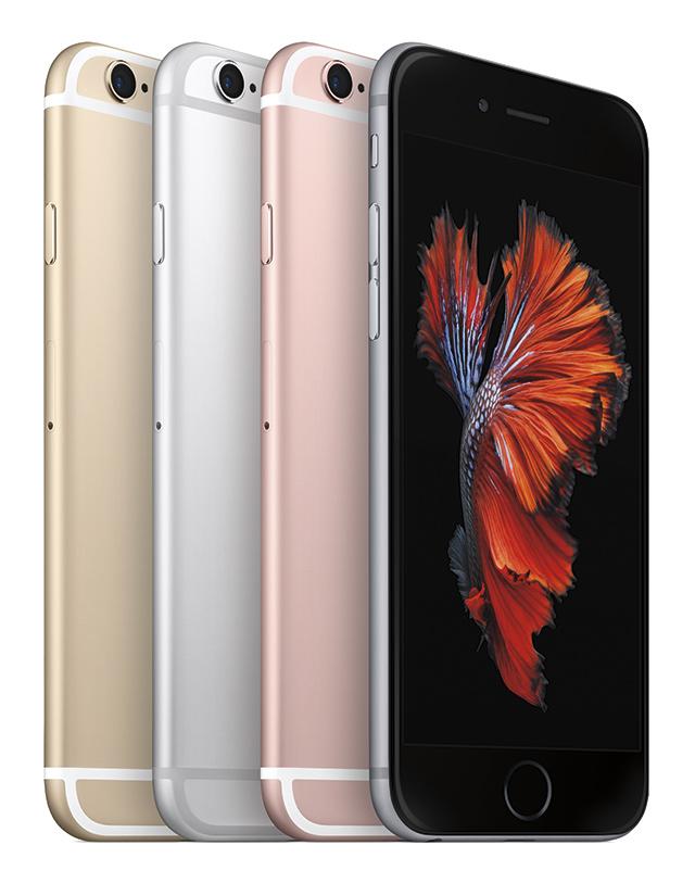 iPhone 6s - barevné provedení
