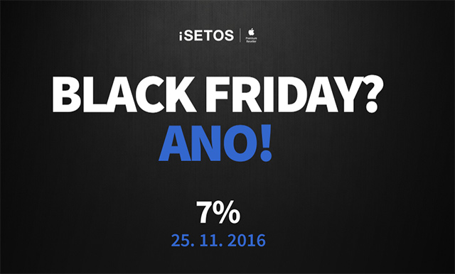 Black Friday iSETOS