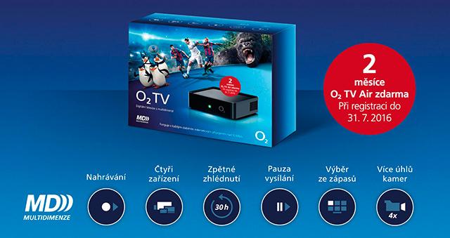 Mobilní O2 TV na 2 měsíce zdarma