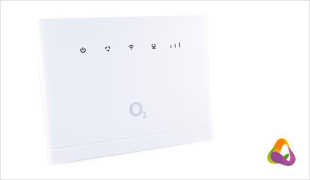 Modem Huawei B315 - přední panel