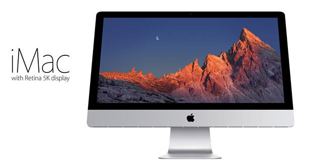 iMac s retina 5K displejem