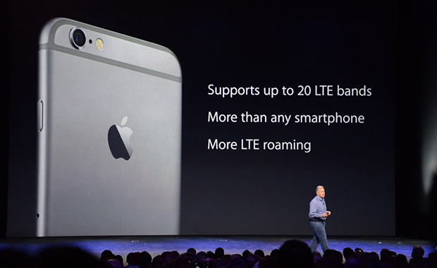 iPhone 6 LTE s rychlostí 150 Mb/s