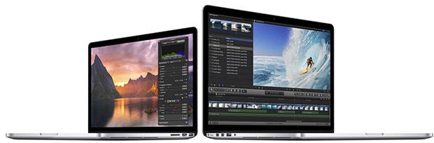 Nové MacBooky Pro Retina
