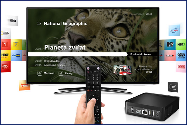 Nový STB IP4 TV