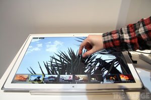 Panasonic 20'' tablet s Ultra HD displejem