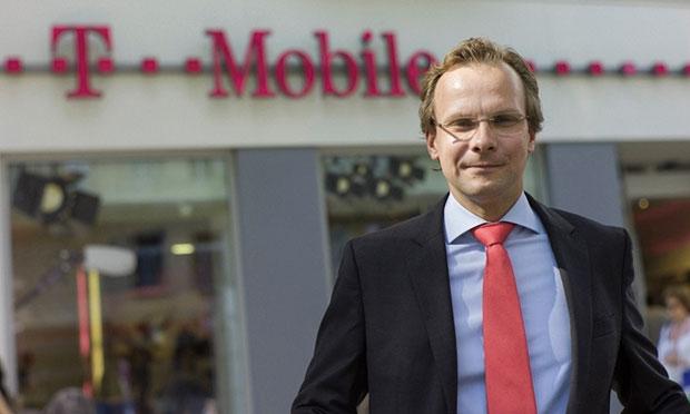 Robert Chvátal při odchodu z rakouského T-Mobilu