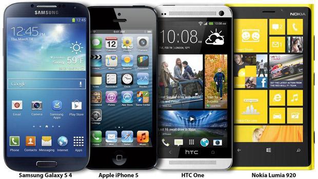 Samsung Galaxy S4 a konkurence