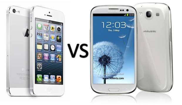 Samsung Galaxy vs iPhone 5