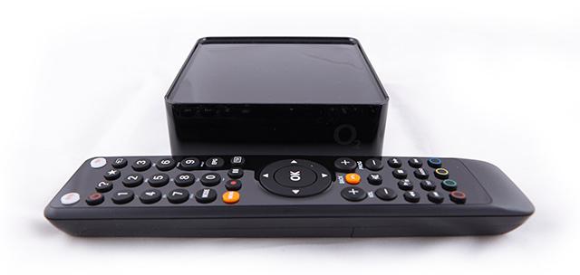 Set-top-box + dálkový ovladač