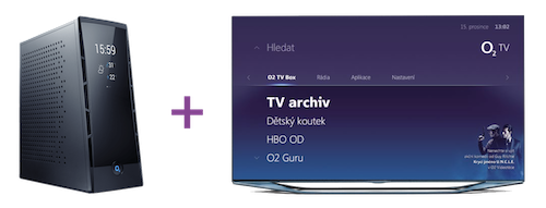 Internet HD + O2 TV