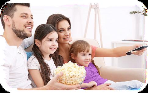 Sledujte své oblíbené pořady v HD kvalitě. Díky kodeku H.265 se vám nebudou zasekávat ani se slabším internetem.