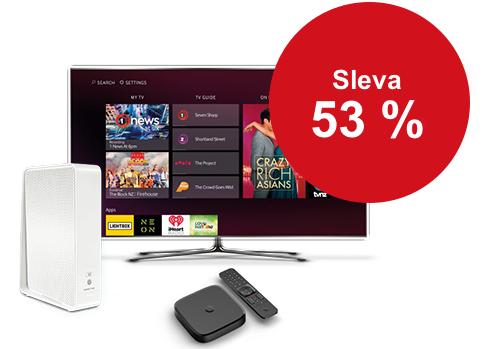 Pevný internet + Vodafone TV