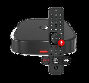 Prémiový Vodafone TV set-top box