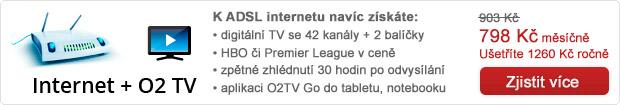 O2 Internet + O2TV