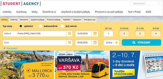 studentagency.cz